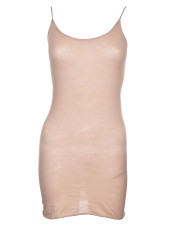 Enza Costa Tunic Layer Tank Top