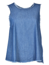Enza Costa Raw Trapeze Tank Top
