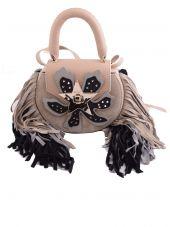 Salar Tassel Shoulder Bag