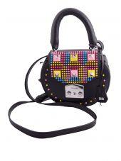 Salar Studded Shoulder Bag