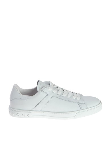 Tod's Leathers STUDDED SNEAKERS