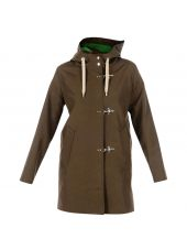 Brown Hooded Parka