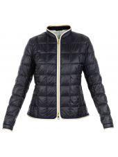 Dark Blue Puffer Jacket