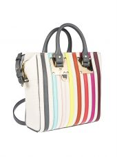 Sophie Hulme Square Cromwell Canvas Tote