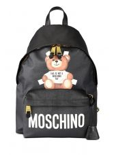 Moschino Not A Moschino Toy Black Backpack