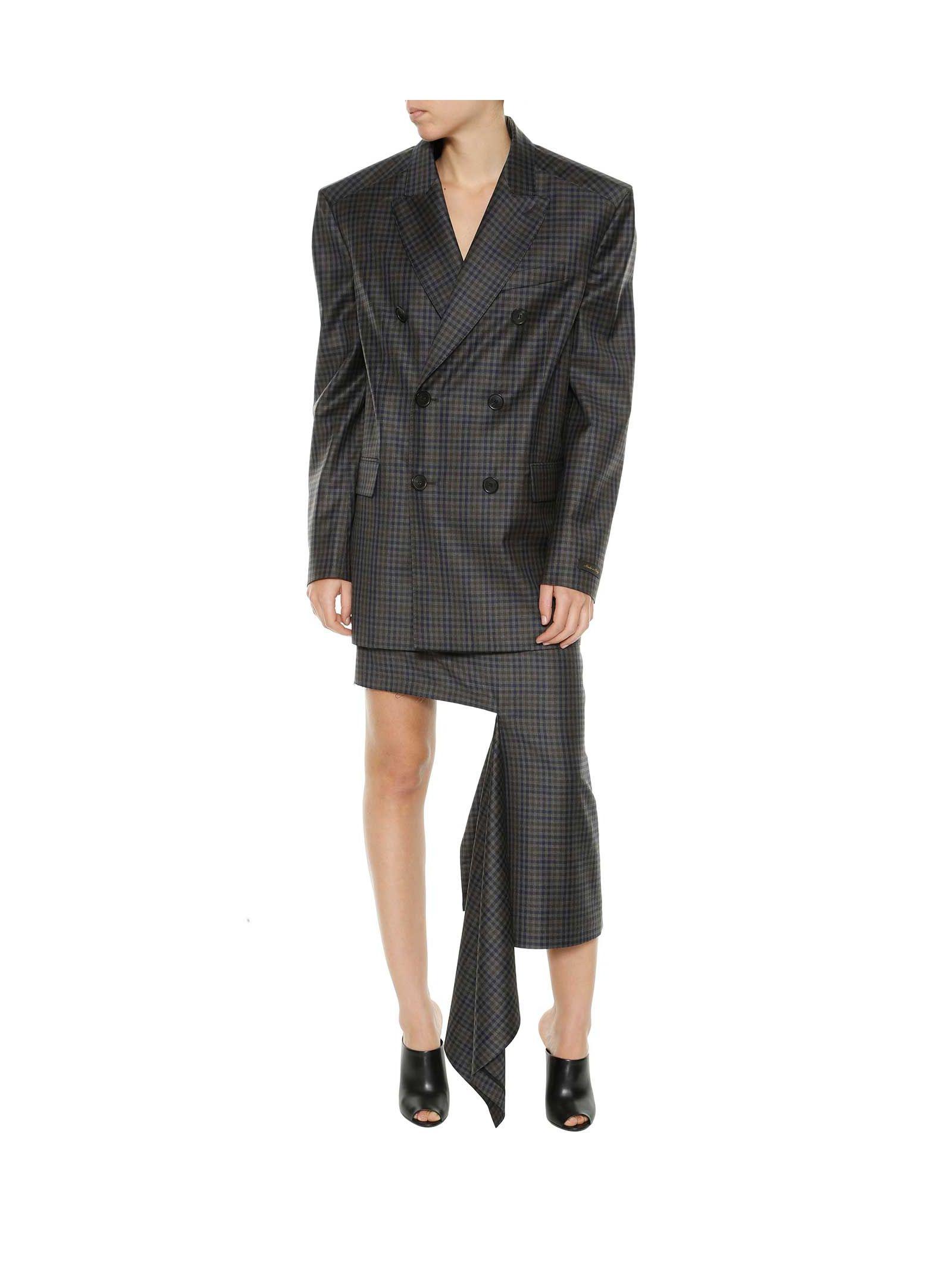 Balenciaga Ripped Skirt