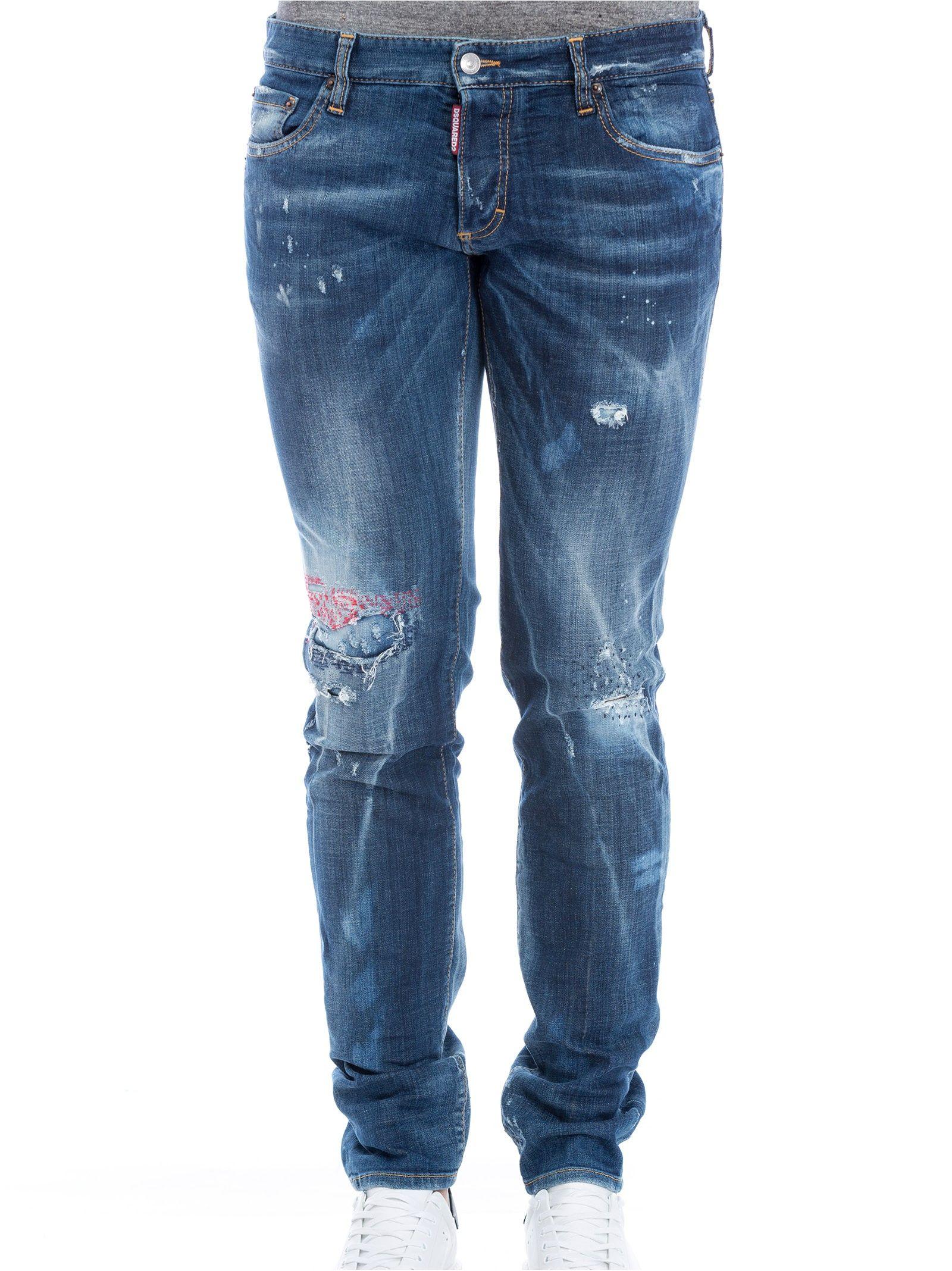Dsquared Classic Kenny Twist Distressed Jeans