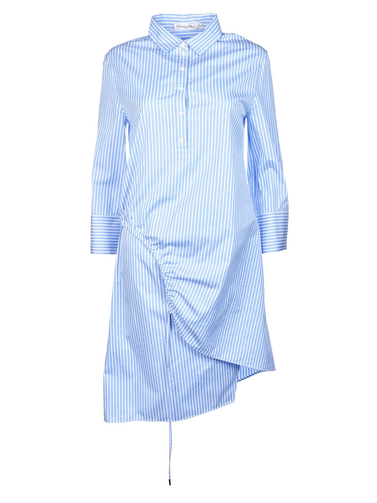 Christian Dior Striped Dress