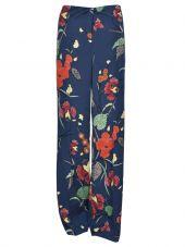 Diane Von Furstenberg Floral Print Trousers