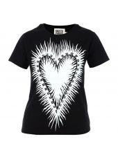 Fausto Puglisi Printed Heart T-shirt