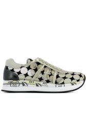 Pois Fabric Sneakers