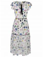 Markus Lupfer Markus Lupfer Fruit Blossom Sheer Belle Dress