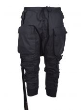 Ben Taverniti Unravel Project Cargo Pocket Drop-crotch Trousers