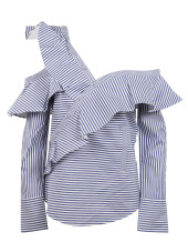 Self-Portrait Frill Shirt