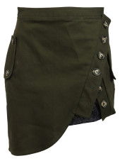 Self Portrait Utility Mini Skirt
