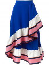 Emilio Pucci Ruffled Detail A-line Skirt