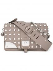 Versace - Stardvst Studded Shoulder Bag