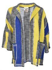 Semicouture Striped Cardigan