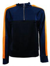 Ami Zipped Collar Sweatshirt