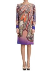 Etro Tunic Dress In Silk
