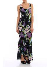 Diane Von Furstenberg Dress In Silk Flowers