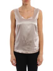 Fabiana Filippi Top Silk Satin