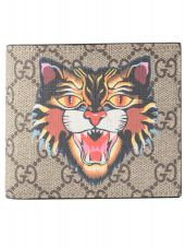 Gucci Gg Sup.angry Cat Wallet