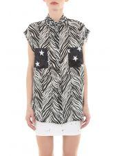 W1814t00094 Sl Print Shirt
