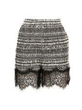 Faith Connexion Tweed Mini Skirt