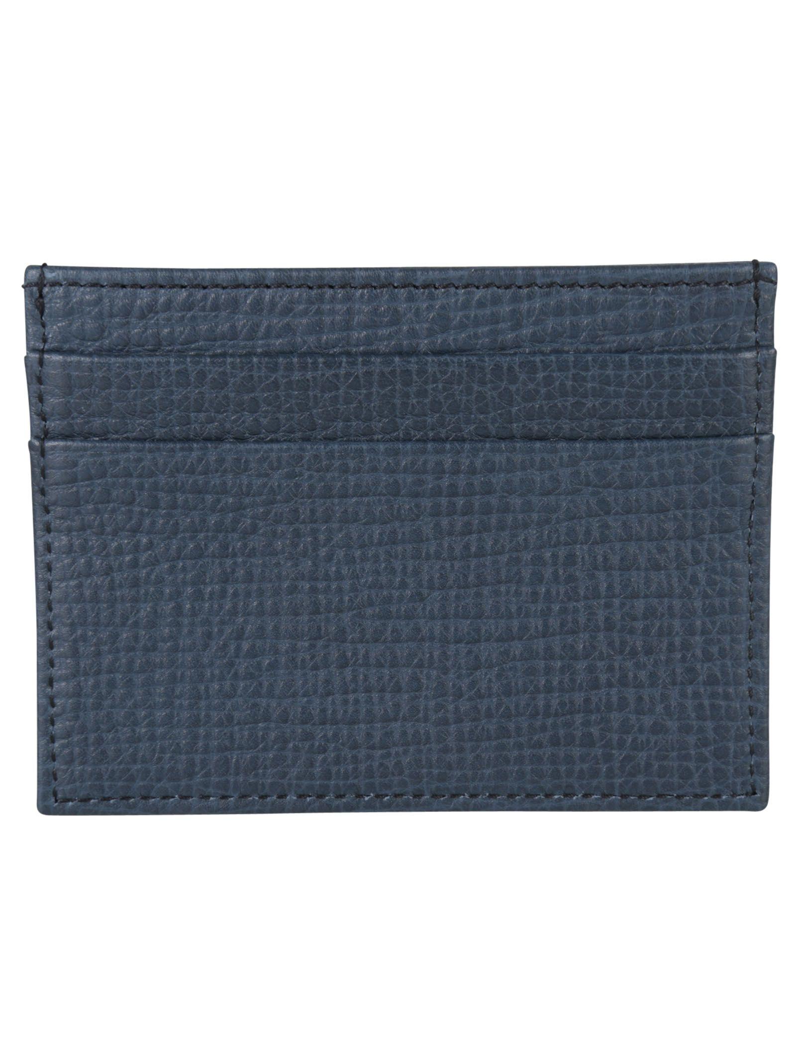 Blue Navy Card Holder