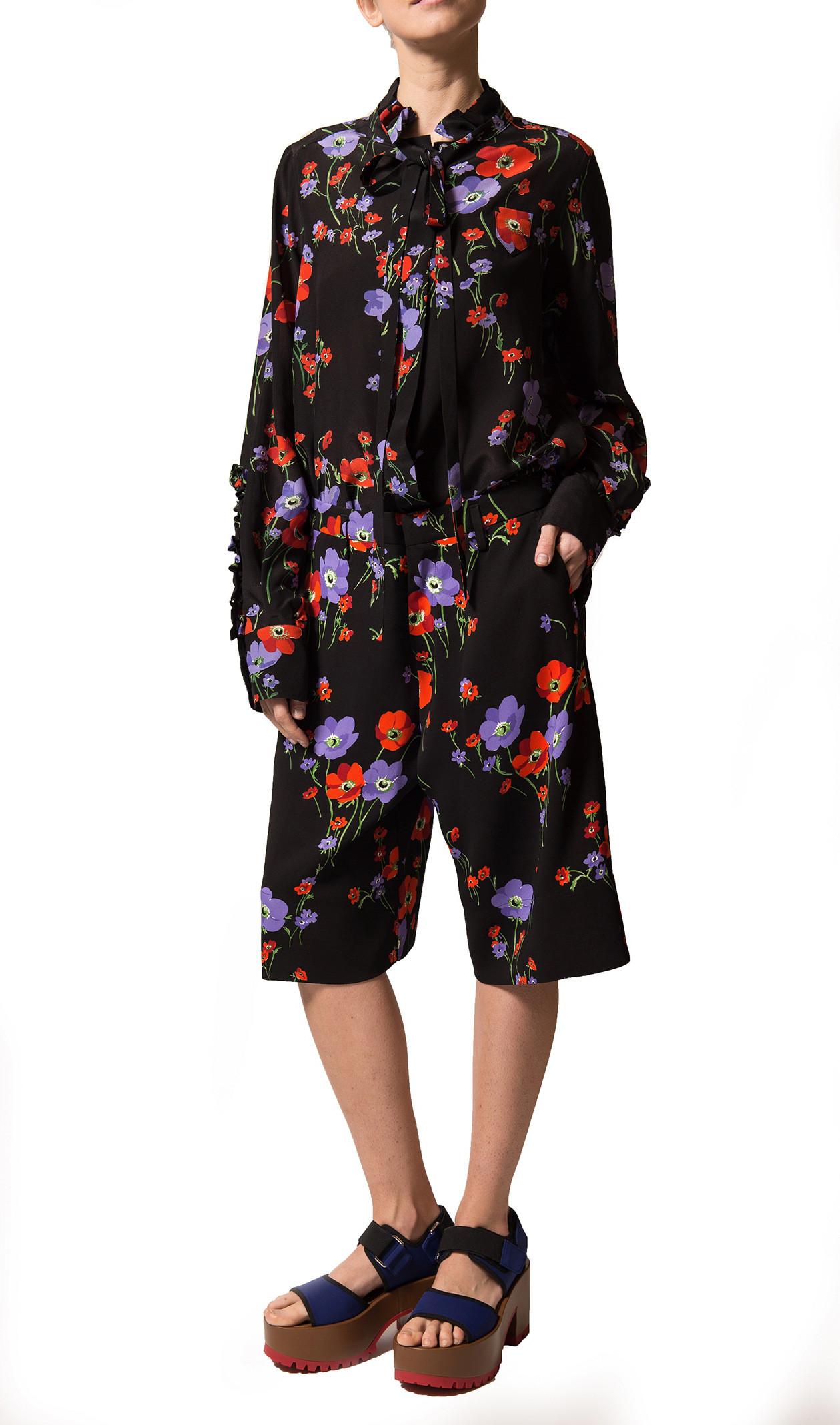 N.21 Floral Print Shorts