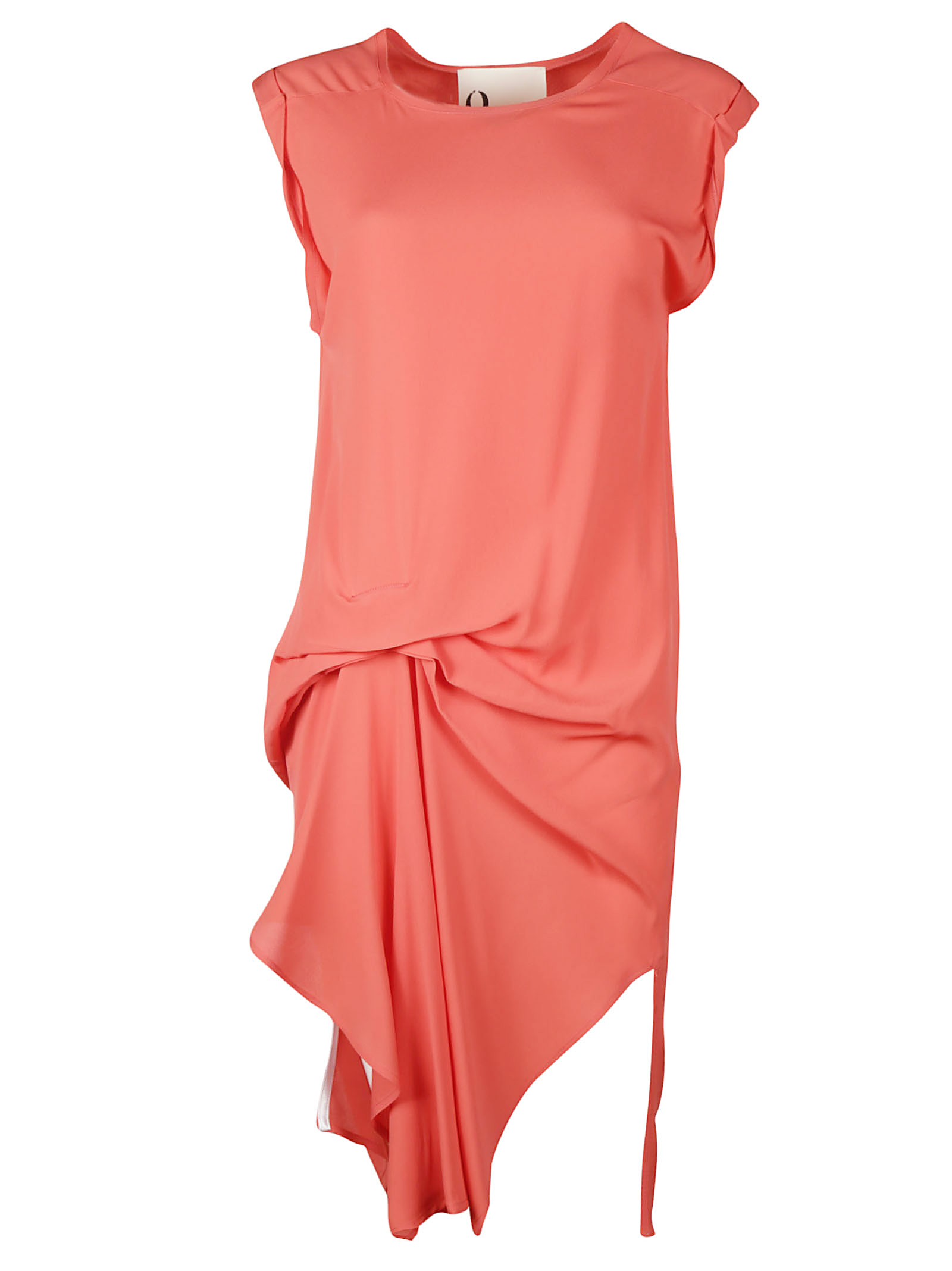 8PM Draped Detail Fitted Dress