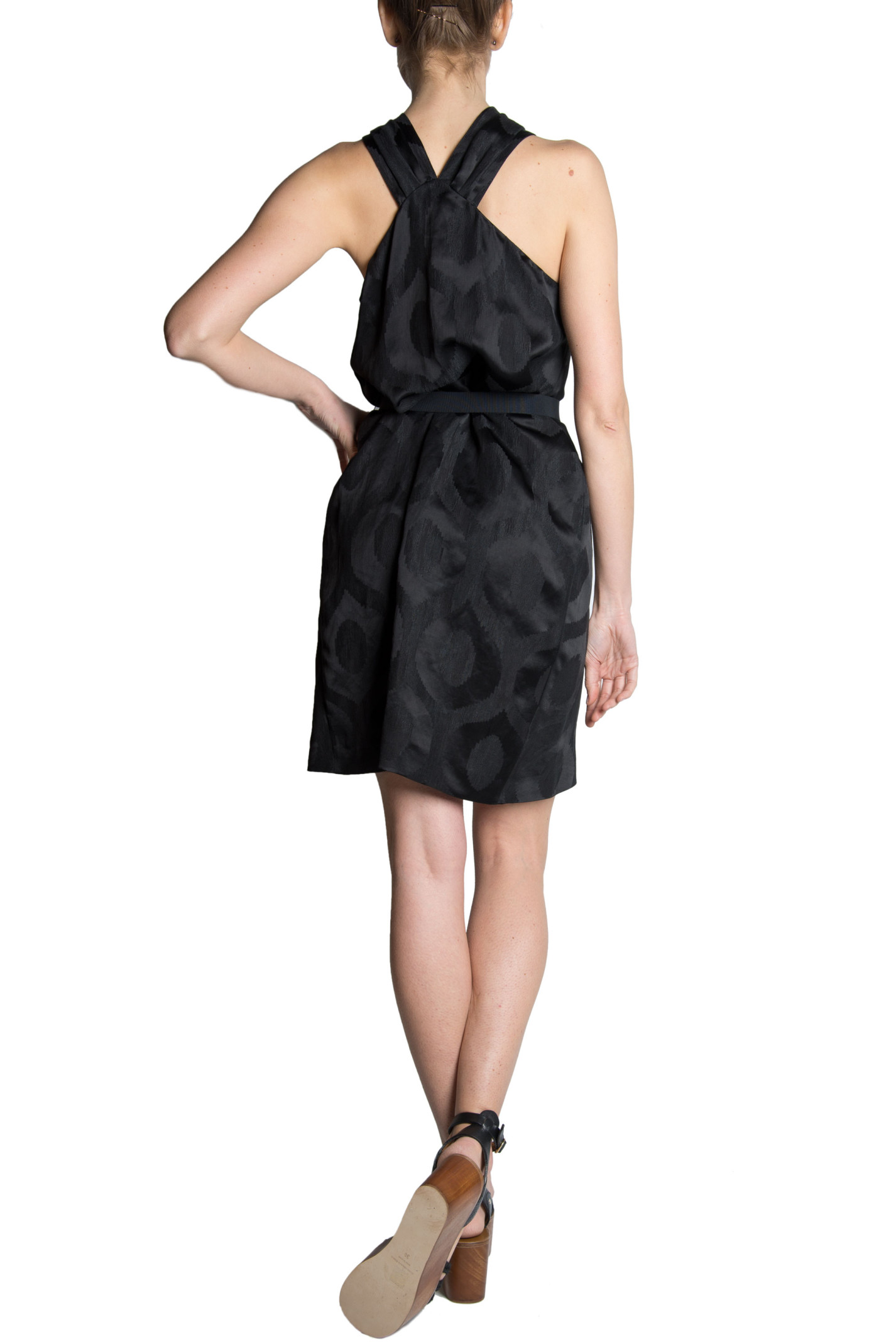 Isabel Marant Isabel Marant Suzy Jacquard Dress Black