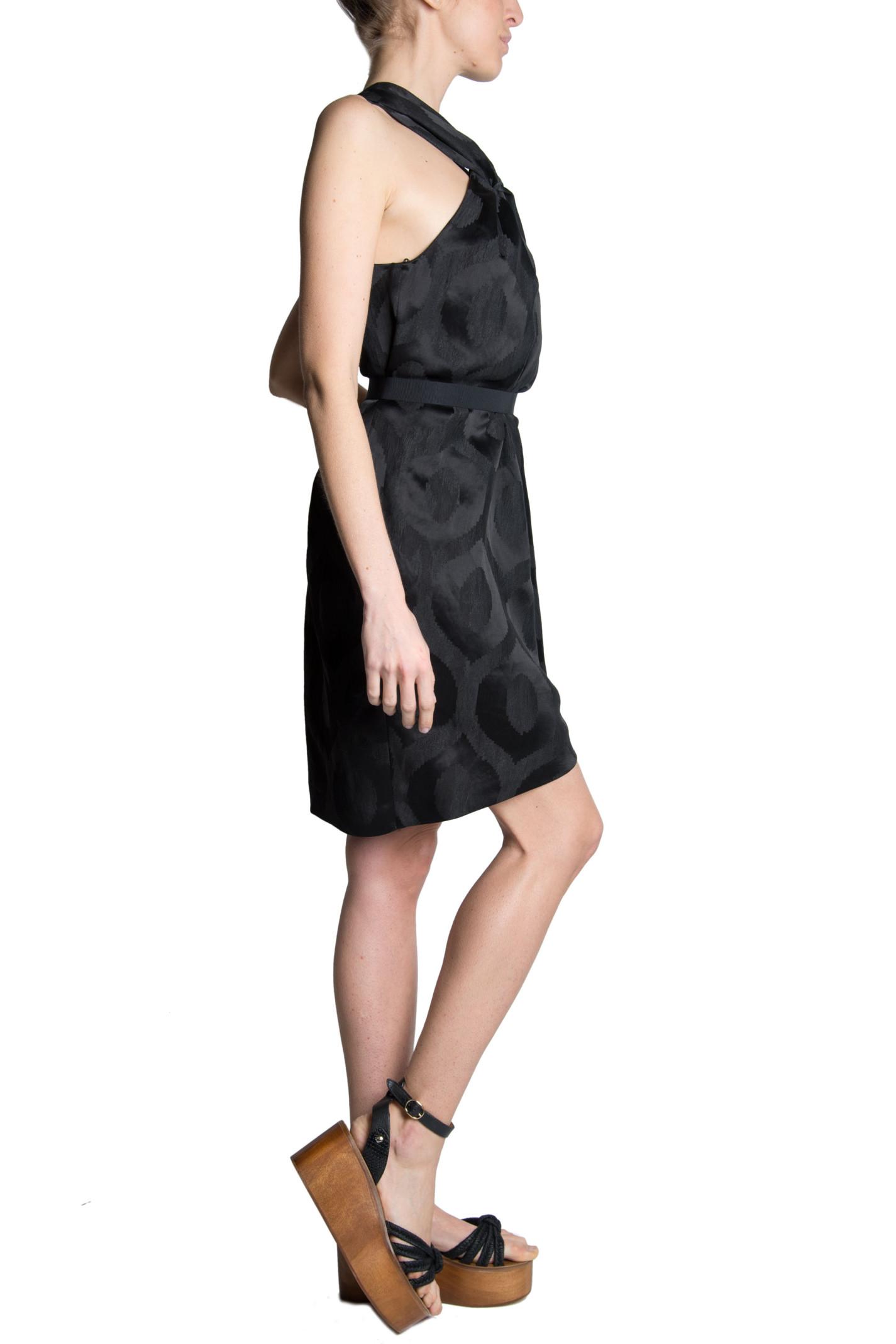 isabel marant isabel marant suzy jacquard dress black women 39 s dresses italist. Black Bedroom Furniture Sets. Home Design Ideas