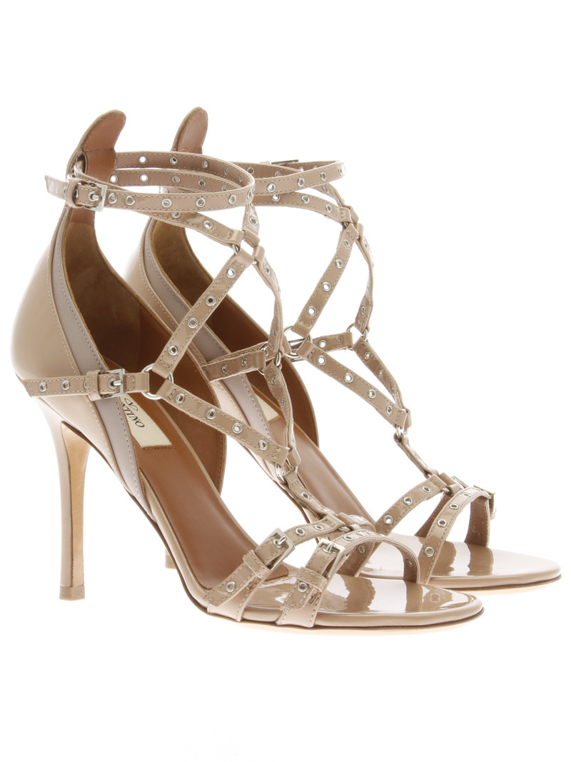 "LOVE LATCH"" Leather Sandals - Valentino - Luxury Addicted"