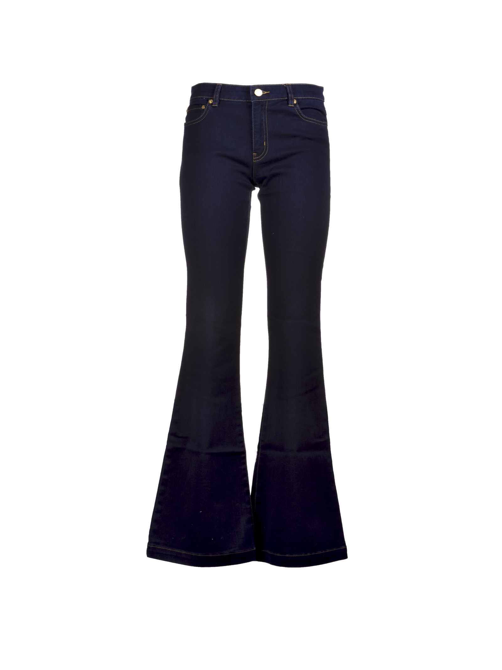 michael kors female  michael kors boot cut jeans