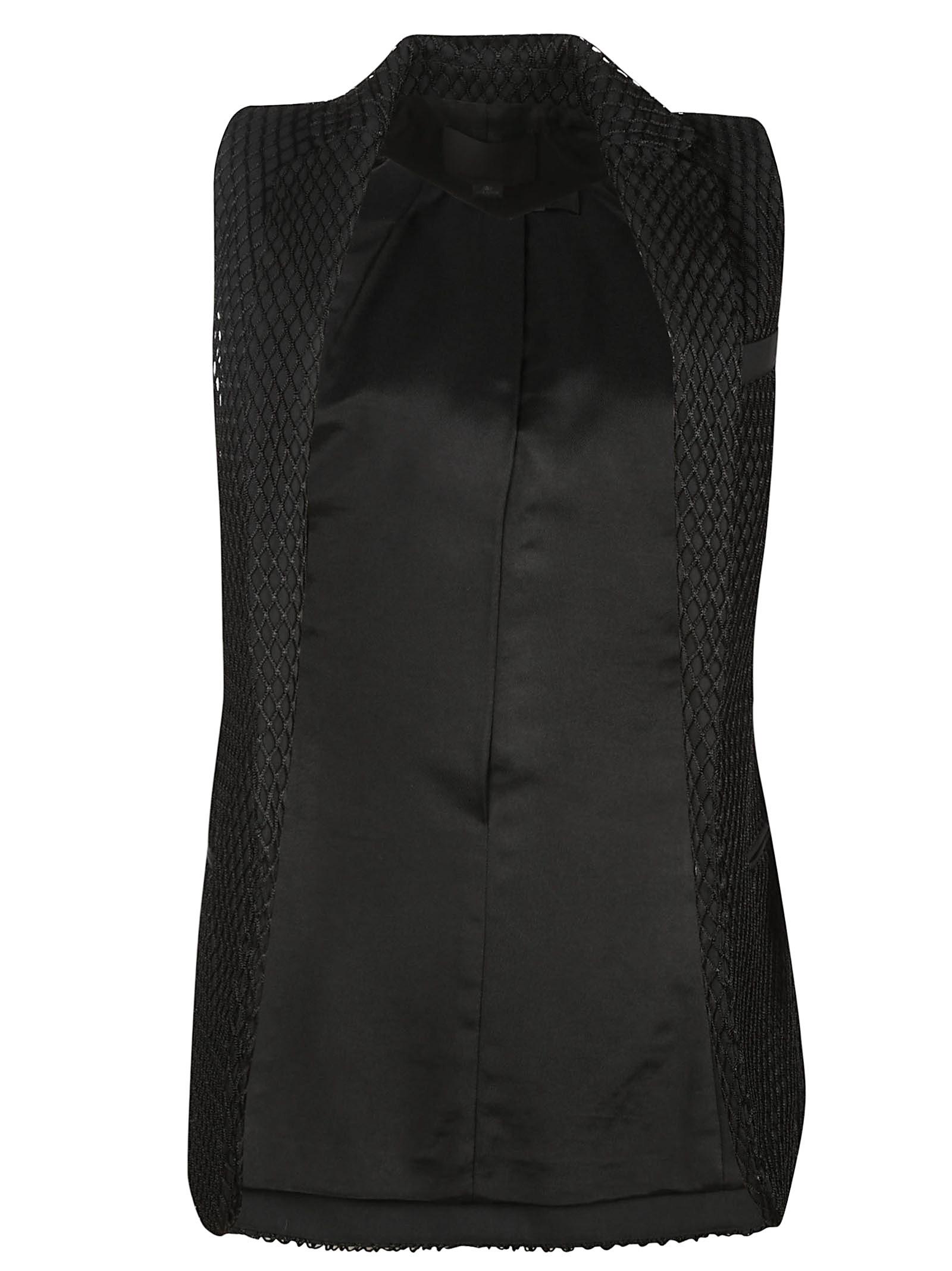 alexander wang female  alexander wang fishnet design vest