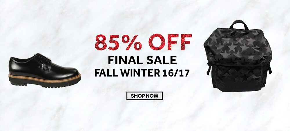 Final Sales Men - Fall Winter 2016
